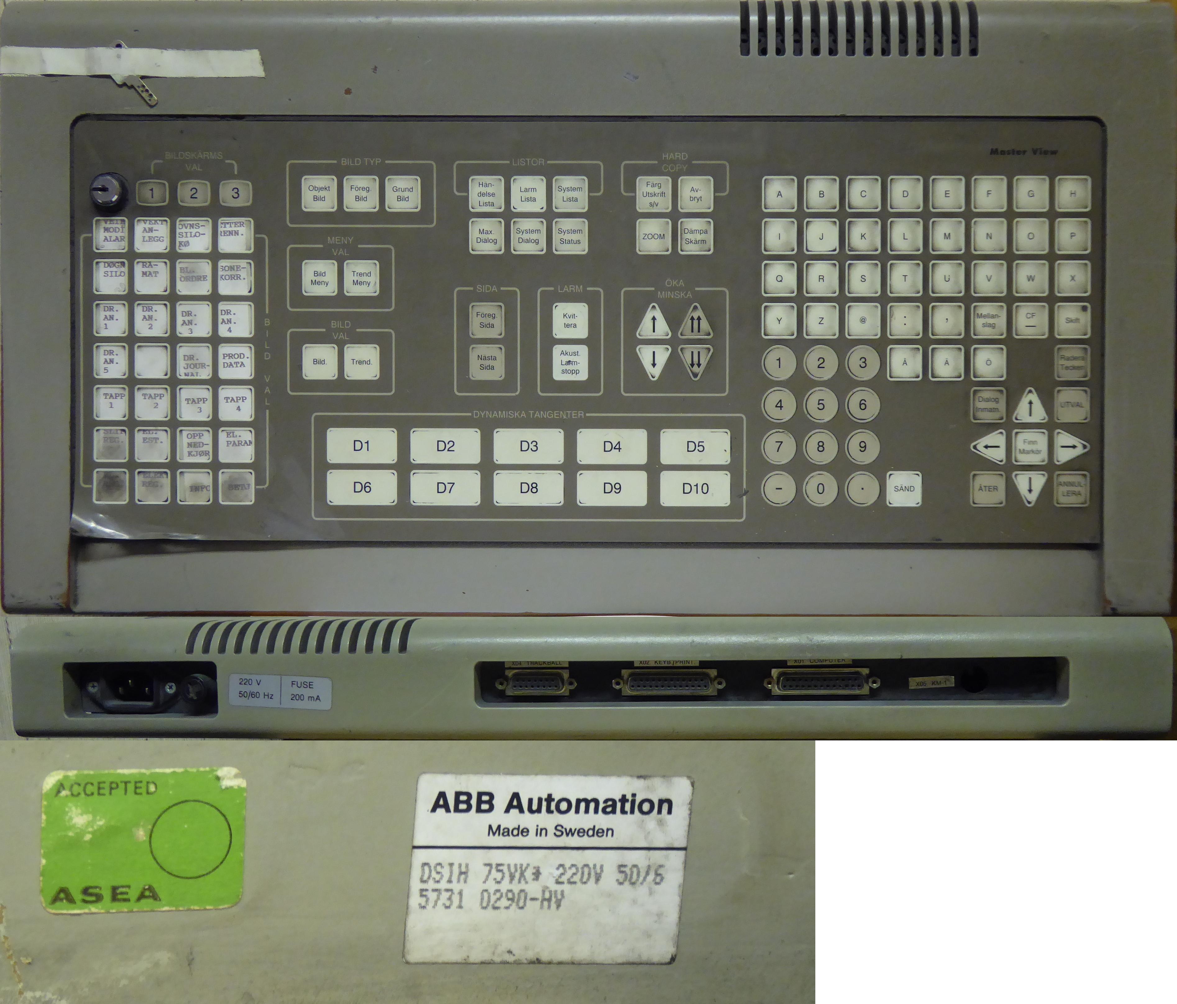 Allserv As Abb Overcurrent Relay Mastersystems